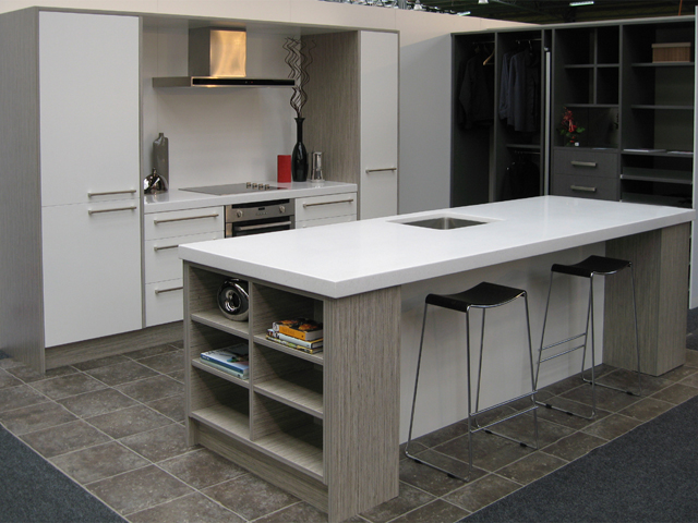 Kitchens Direct display